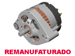 758 - ALTERNADOR REMANUFATURADO - ESTATOR