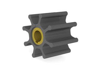 2715 - ROTOR B.DAGUA 65-50mm EIXO16,0mm 08 ALH CHAVETADO