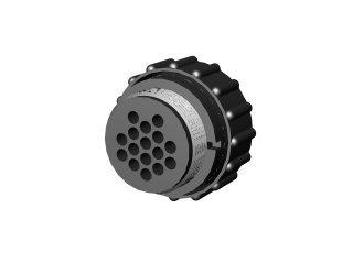 1159 - CONECTOR 16 PINOS( FÊMEA )P/ CABO D40B;41;42;43;44
