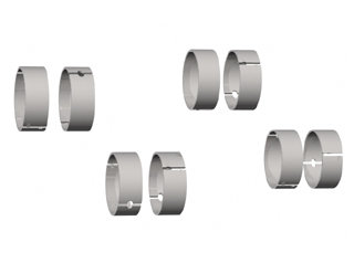 641 - BRONZINA BIELA 0,25mm (0.010) (8CL) 5.0;5.7;6.2;AQ271;570
