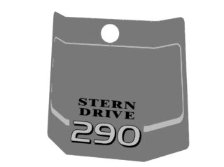 1838 - EMBLEMA RABETA 290 - FRONTAL