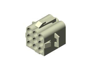 1514 - CONECTOR 09 VIAS FÊMEA B41;VP229;D41;42;43;44
