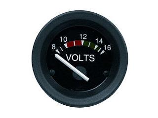2915 - Indicador voltímetro preto-tur 24v 52mm