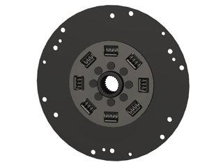 533 - DISCO ACOPLAMENTO 08 MOLAS ENTALHADO FINO (35mm) D40;41; 42;43;44;300,VP22