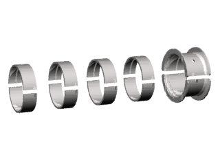 1646 - BRONZINA FIXA 0,75mm (0.030) (JG) 5.0;5.7;6.2;500;570