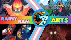 Rainy Ram Art
