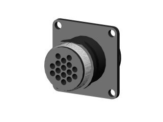 1164 - CONECTOR 16 PINOS( MACHO) P/ PAINEL D40B;41;42;43;44