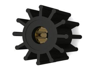 725 - ROTOR B.DÁGUA 57-50mm EIXO16,0mm 12 ALH AQ271;740 AQB41ANTIGO (ES