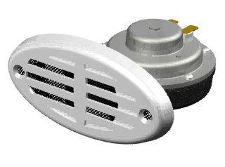 2293 - BUZINA ELÉTRICA EMBUTIR 12V (2A) 110DB (51x48)mm