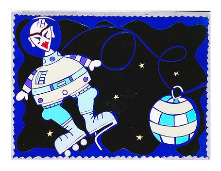 Le robot de l'espace