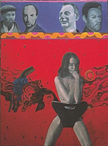 Pauline Boty pop art femme