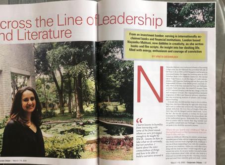 'Across the Line of Leadership & Literature'