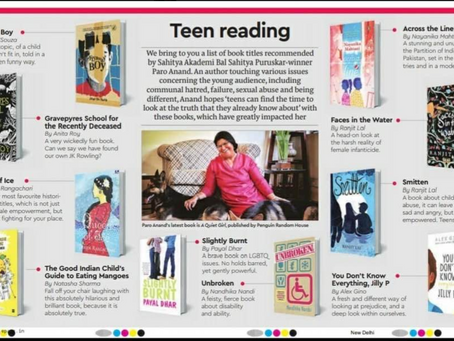 Recommended Teen Reads