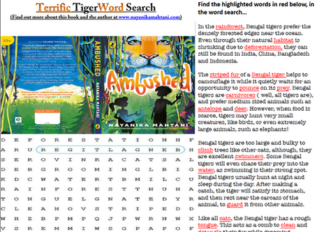 Ambushed Word Search!