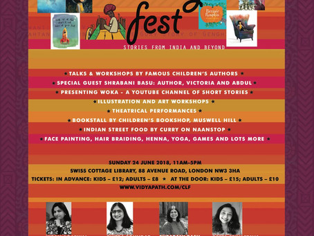 Calling All Little People - Oodles of Fun Await at this Children's Lit Fest!