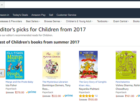 Huzzah! The Gory Story of Genghis Khan Rated One of the Best Kids' Books of 2017 :)