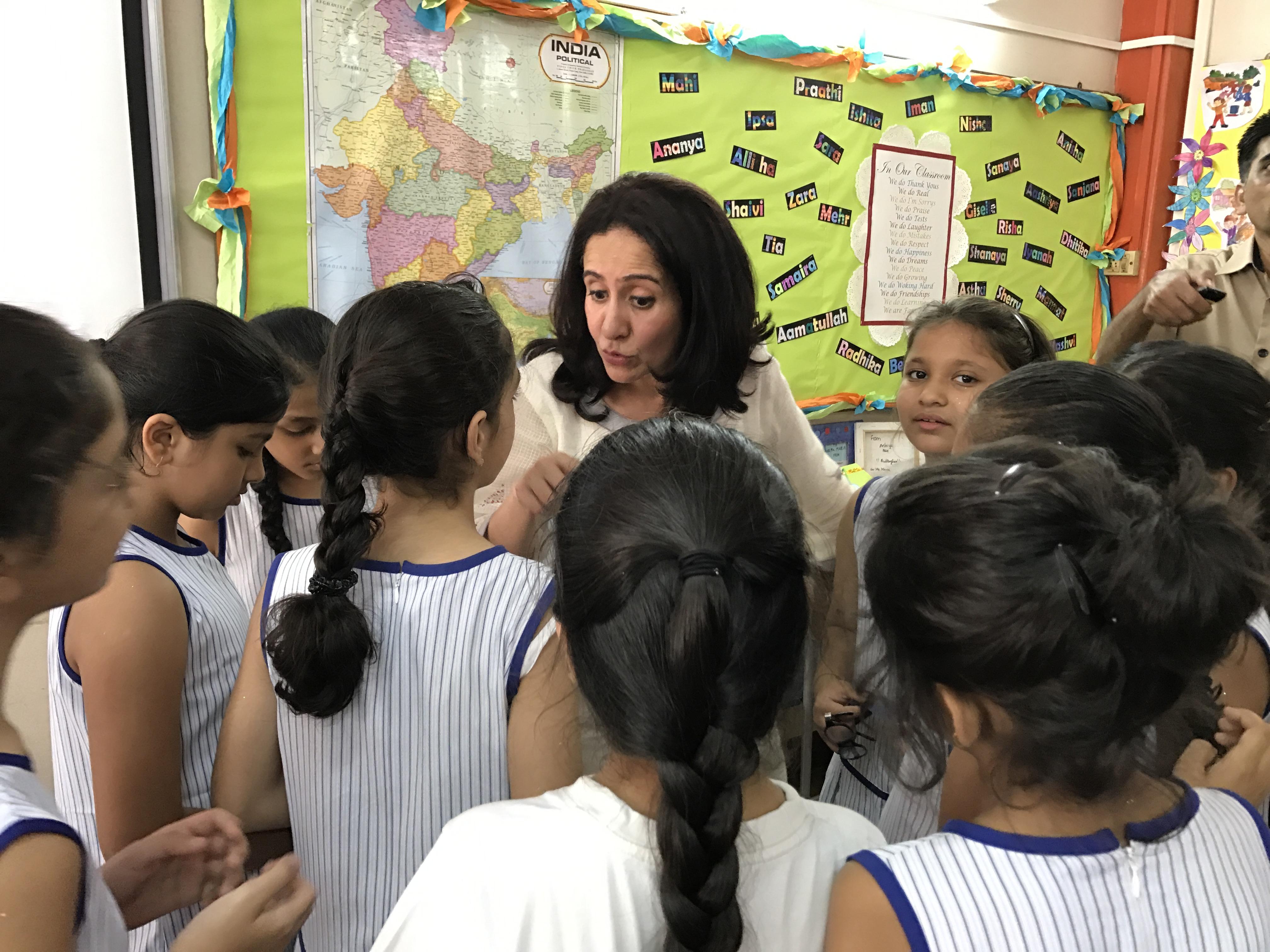 School Visit, Mumbai