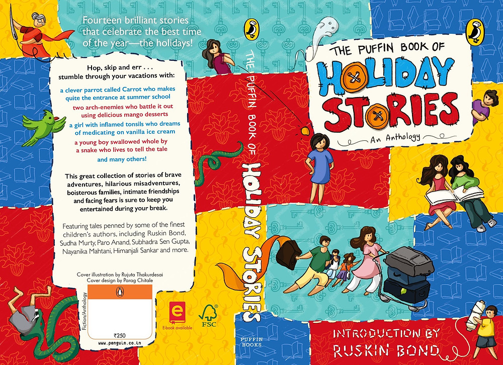 Collection of short stories for children by Indian authors
