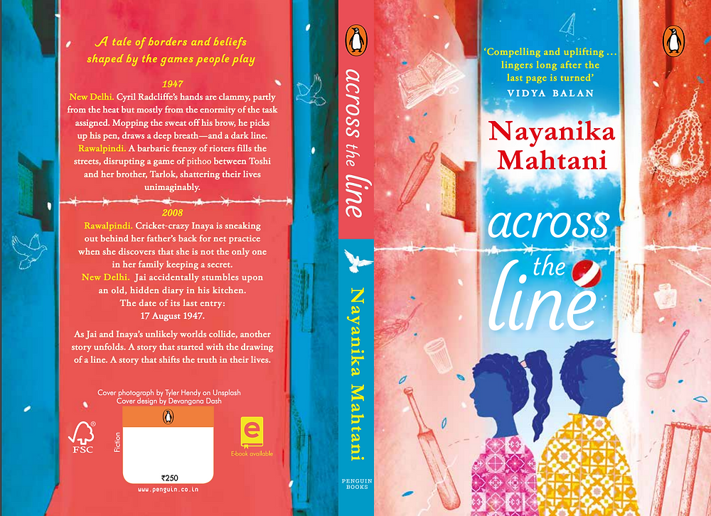 Nayanika Mahtani Historical Fiction Partition Young Adult