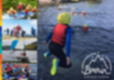 Brenin Adventures outdoor adventure brochure
