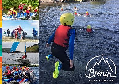 Brenin Adventures outdoor adventure brochure