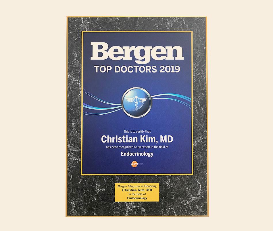 Bergen County Top Doctor 2019
