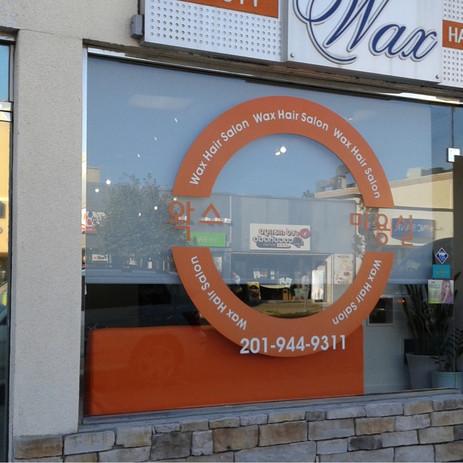 Wax hair salon