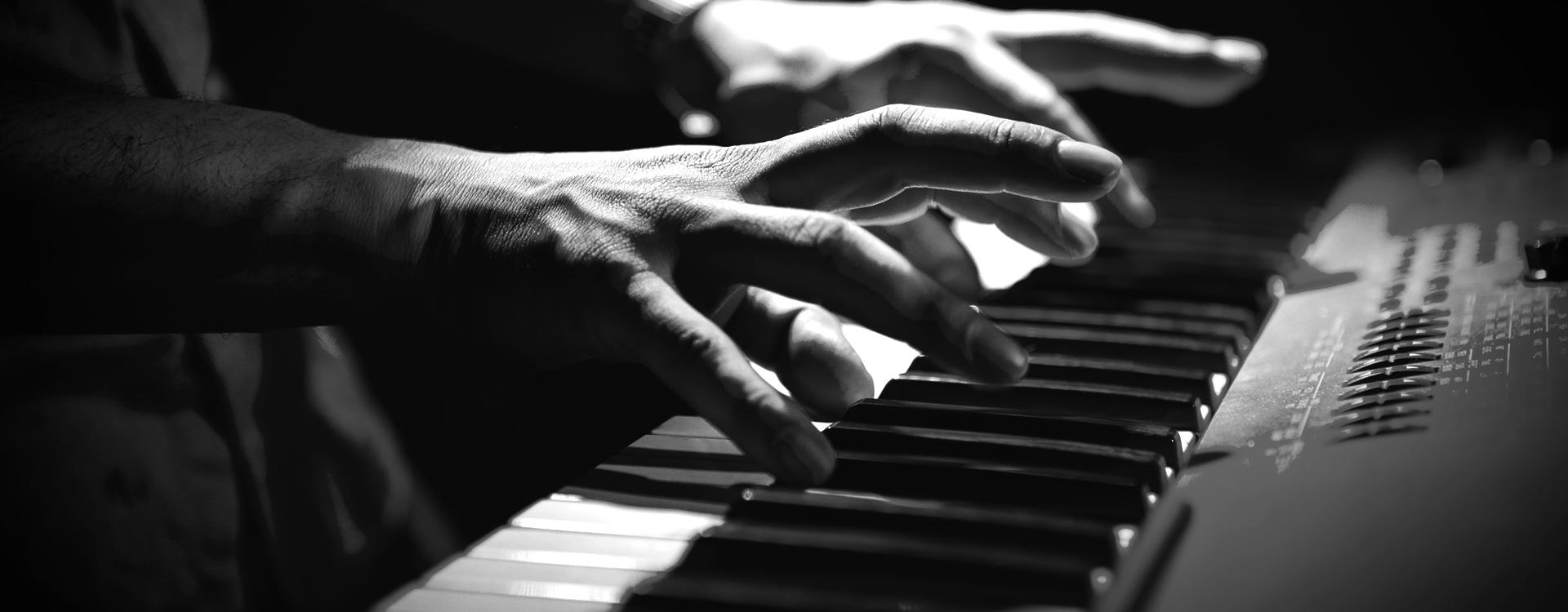 Música no teclado