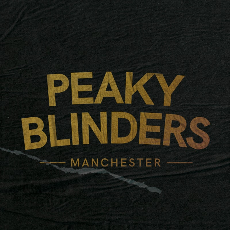 Peaky Blinders Manchester logo