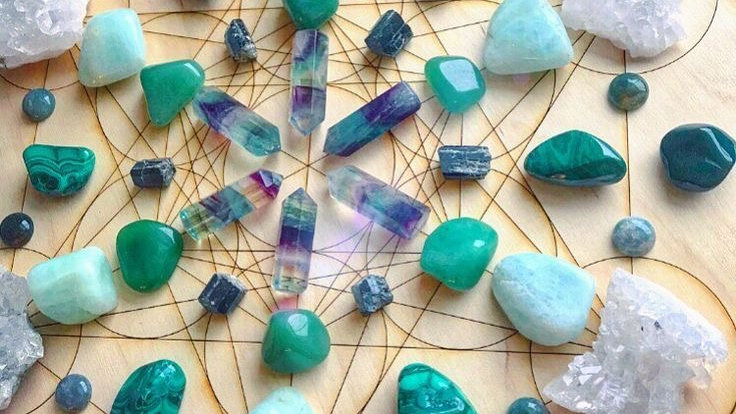 Distance Healing from the Reiki Network Crystal Grids