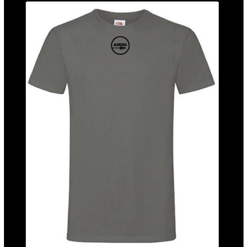 Grå T-shirt herr/Unisex med tryck