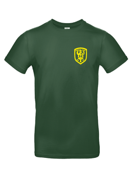 T-shirts med gult tryck
