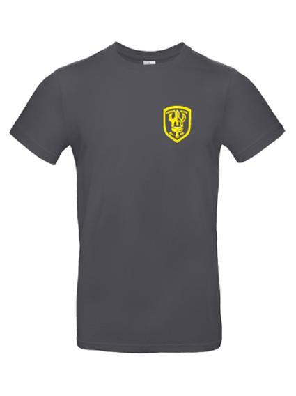 T-shirt BA02 med gult tryck