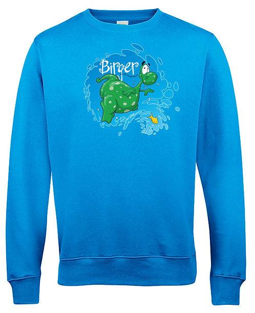 "Sweatshirt ""Splash"" vuxenstorlekar"