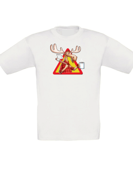"T-shirt ""Rolf the moose"" barnstorlekar"