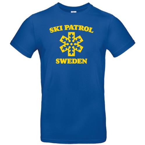Ski Patrol Sweden T-shirt vuxenstorlekar