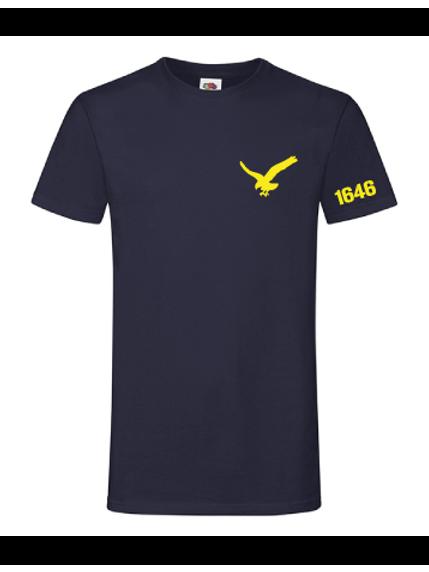 Blå T-shirt herr/unisex