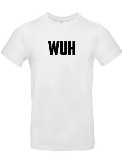 "T-shirt ""WUH"" vit"