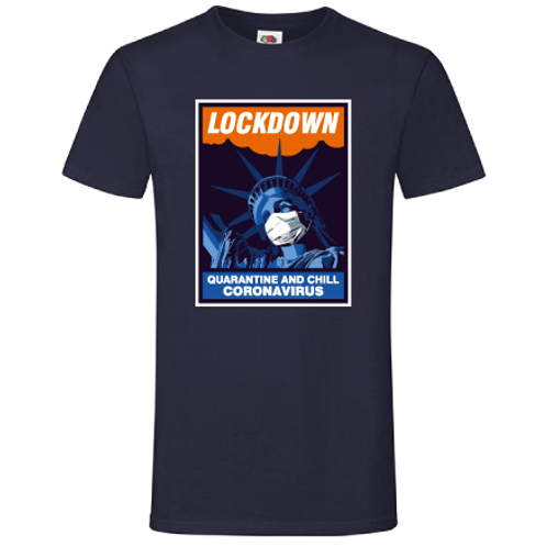 "T-shirt ""Liberty lockdown"""
