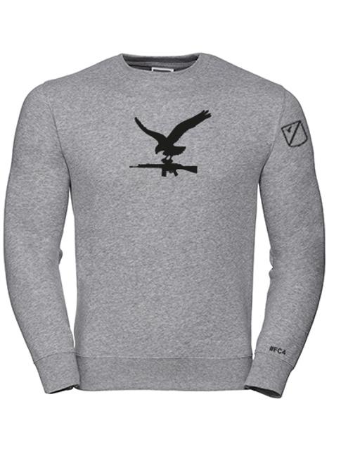 Sweatshirt Örn med AK