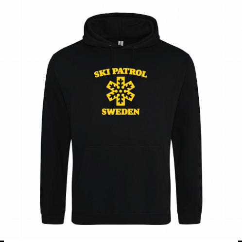Ski patrol Sweden Hoodie vuxenstorlekar