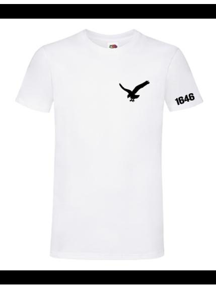 Vit T-shirt herr/unisex