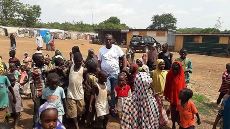 Visit to Internally Displaced People Centre in Nigeria