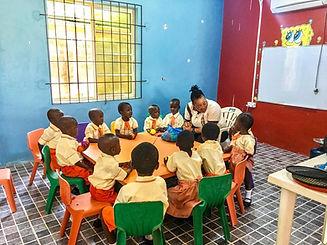 KHope School Classroom