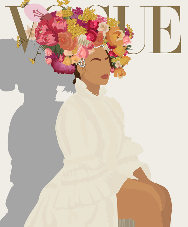 bey for vogue.