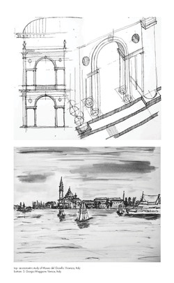 italy: hand sketches
