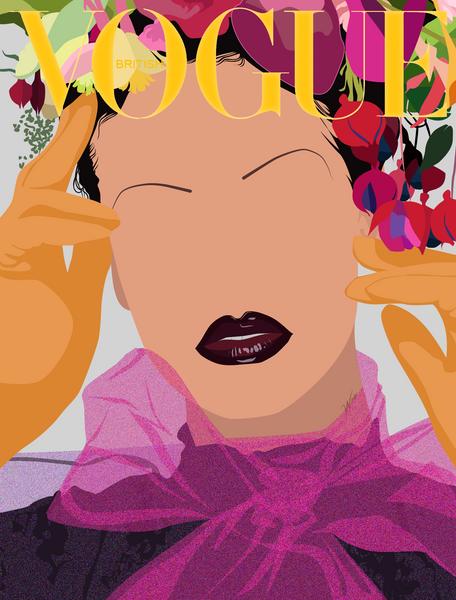 Rih for British Vogue