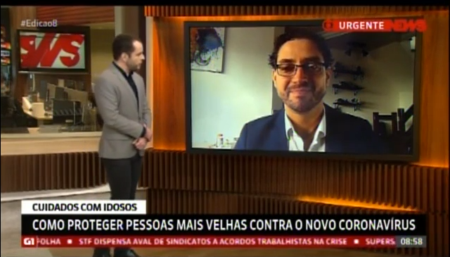 Jornal Globo News-RJ: entrevista Dr. Douglas Crispim