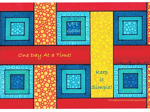 Card ~ One Day at a Time