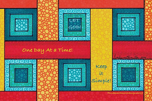 Postcard Print ~ One Day at a Time